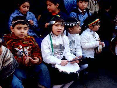 Estamos celebrando a nuestros pueblos originarios